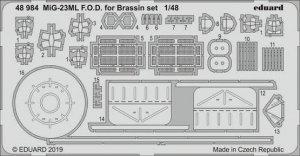 Eduard 48984 MiG-23ML F. O.D. for Brassin set 1/48 EDUARD