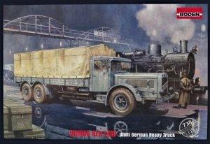 Roden 738 Vomag 8 LR LKW WWII German Heavy Truck 1/72