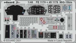 Eduard 491178 MiG-15bis BRONCO / HOBBY 2000 1/48