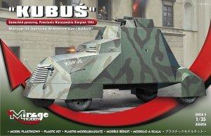 Mirage Hobby 355026 Kubuś Samochód pancerny Powstanie Warszawskie Sierpień 1944 1/35
