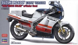 Hasegawa 21732 Suzuki RG400 Early Version Red/White Color w/Under Cowl 1/12