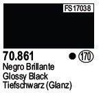 Vallejo 70861 Glossy Black (170)