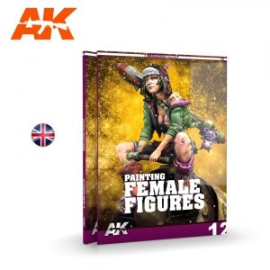 AK Interactive 520 Learning 12 Painting Female Figures English