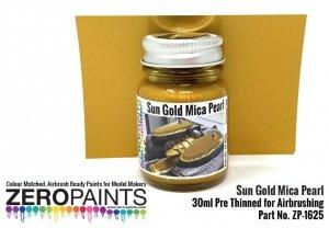 Zero Paints ZP-1625 Sun Gold Mica Pearl Paint 30ml