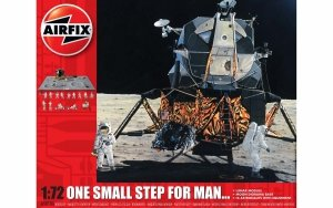 Airfix 50106 One Small Step for Man 40th Anniversary of Apollo 11 Moon Landing 1/72