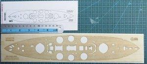 Wood Hunter W35075 HMS Lord Nelson Wooden Deck (Hobby Boss) 1/350