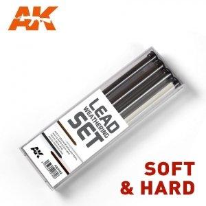 AK Interactive AK 4182 LEAD WEATHERING SET