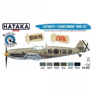 "Hataka HTK-BS32 Luftwaffe ""Legion Condor"" paint set 6x17ml"