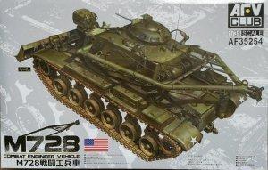 AFV Club 35254 Combat Engineer Vehicle M728 1/35