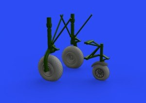 Eduard 632149 B-24 wheels (9spoke front wheel) 1/32 HOBBY BOSS