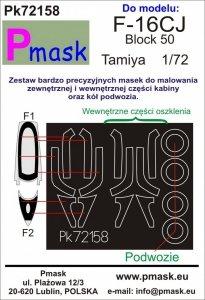 P-Mask PK72158 F-16CJ Block 50 (Tamiya) 1/72