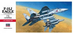 Hasegawa C7 F-15J Eagle JASDF Interceptor 1/72