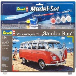 Revell 67399 Volkswagen T1 SAMBA BUS Zestaw Modelarski 1/24