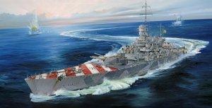 Trumpeter 05777 Italian Navy Battleship RN Roma (1943) 1/700