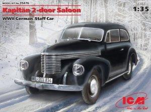ICM 35476 Kapitän 2-door Saloon, WWII German Staff Car 1/35
