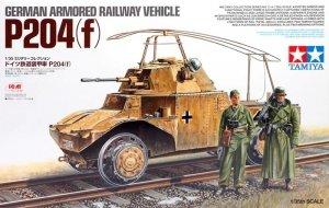 Tamiya 32413 German Armoured Railway Vehicle P204(f) 1/35