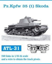 Friulmodel 1:35 ATL-31 Pz.Kpfw 35 (t) Skoda