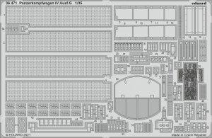 Eduard 36471 Panzerkampfwagen IV Ausf.G TAMIYA 1/35