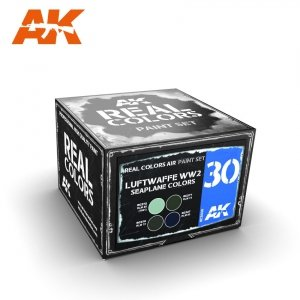 AK Interactive RCS030 LUFTWAFFE WW2 SEAPLANE COLORS 4x10ml