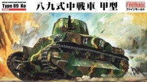 Fine Molds FM56 Imperial Japanese Army Medium Tank Type 89 Ko 1/35