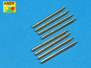 Aber A32109 Set of 8 turned cal .50 (12,7mm) U.S. Browning M2 barrels for P-47 Thunderbolt (1:32)