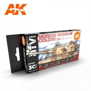 AK Interactive AK 11663 MODERN RUSSIAN COLORS VOL 2 6x17 ml
