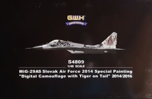 Great Wall Hobby S4809 MiG-29AS Slovak Air Force 2014 Special Painting 1/48