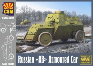 Copper State Models 35007  Russian RB Armoured Car  1/35