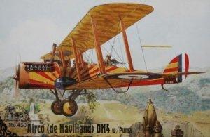 Roden 430 Airco (de Havilland) DH4 w/Puma