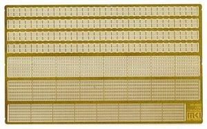 Fujimi 115566 MS-70002 I.J.N Railing Set 1/700