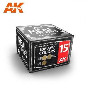 AK Interactive RCS015 IDF AFV COLORS SET (3x10ml)
