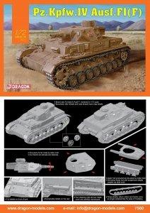 Dragon 7560 Pz.Kpfw.IV Ausf.F1(F) 1/72