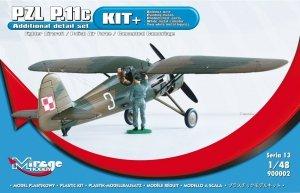Mirage Hobby 900002 PZL P-11c Samolot myśliwski Pro Kit 1/48