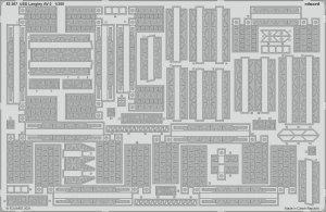 Eduard 53267 USS Langley AV-3 TRUMPETER 1/350