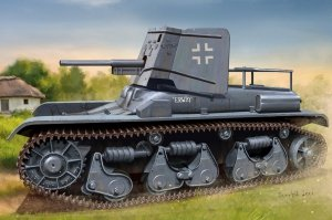 Hobby Boss 83895 German 3.7cm Pak 35/36 auf Pz.Kpfw 35R(f) 1/35
