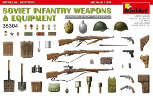 MiniArt 35304 SOVIET INFANTRY WEAPONS & EQUIPMENT. SPECIAL EDITION 1/35