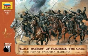 Zvezda 8079 Black Hussars of Frederick II 1/72