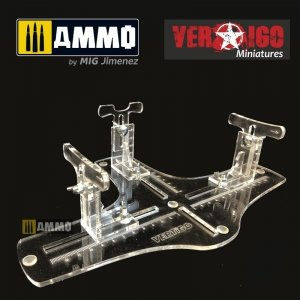 Vertigo VMP003 Plastic stand & transport jig BASIC 3224