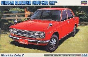 Hasegawa HC8 Nissan Bluebird 1600 SSS P510WTK 1969 1/24