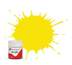 Humbrol AB0099 99 Lemon Matt Acrylic Paint 14ml