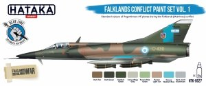 Hataka Hobby HTK-BS27 Falklands Conflict Vol. 1 Paint Set (8x17)ml