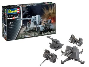 Revell 03325 8,8 cm Flak 37 + Sd.Anh.202 1/72