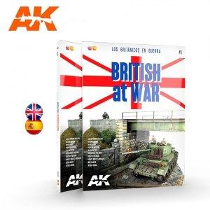 AK Interactive AK 130001 BRITISH AT WAR – LOS BRITÁNICOS EN GUERRA
