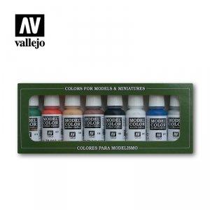 Vallejo 70103 Model Color - Wargame Basic Set  8 x 17 ml (70103)