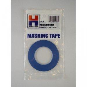 Hobby 2000 80014 Masking Tape For Curves 2,5mm x 18m