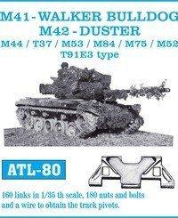 Friulmodel 1:35 ATL-80 M41 -WALKER BULLDOG, M42-DUSTER/ M44/ T37/ M53/ M84/ M75/ M52/ T91E3 type