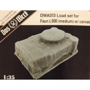 Das Werk DWA013 Load Set For Faun L900 Medium W/Canvas 1/35