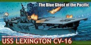 Dragon 7051 U.S.S. Lexington CV-16 1/700