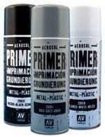 Vallejo 28011 Surface Primer Grey spray 400ml.