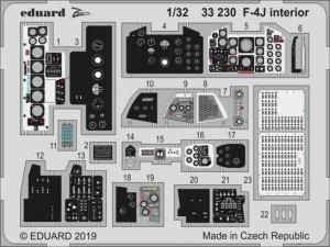 Eduard 33230 F-4J interior for TAMIYA 1/32